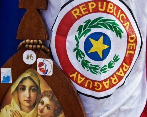 peregrina y bandera 2